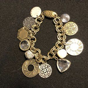 Chicos charm bracelet with magnetic clasp